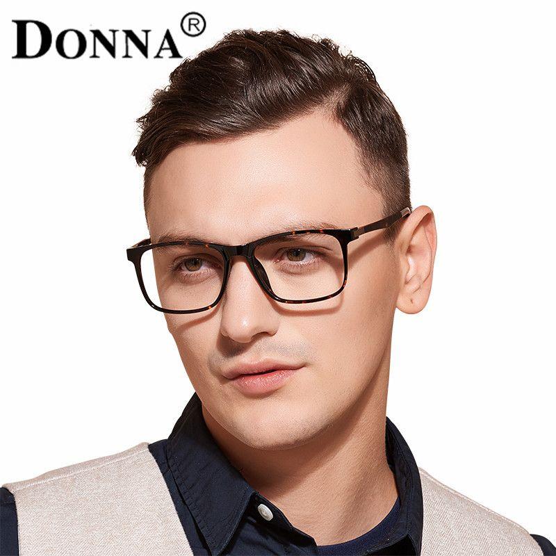 Donna TR90 Men Glasses Frame Vintage Optical Brand Myopia Designer ...