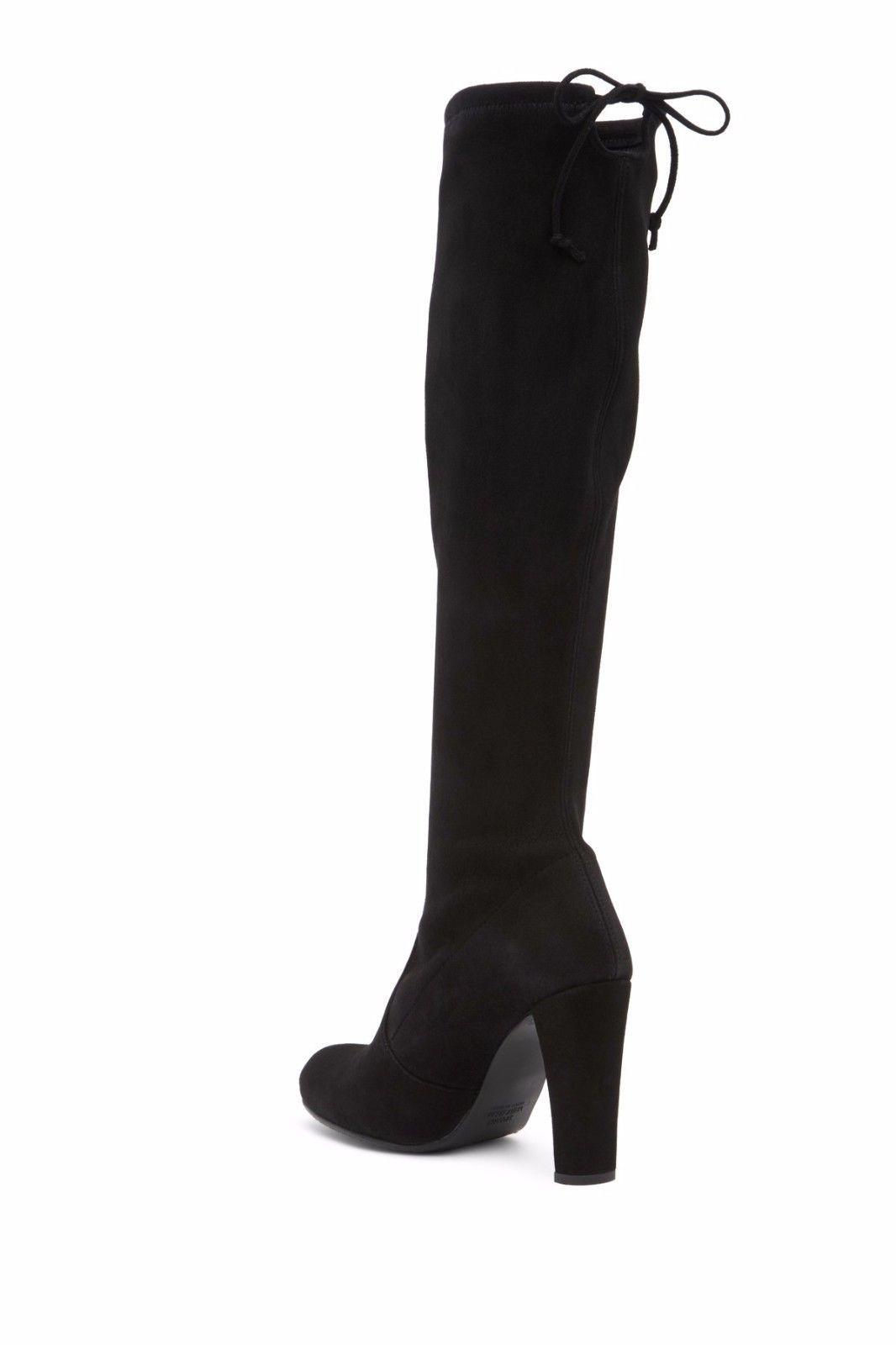 Boots for Women, Booties On Sale, Dark Brown, suede, 2017, 7.5 Stuart Weitzman