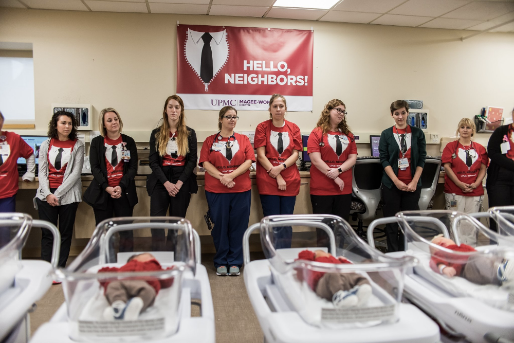 Hospital Surprises Mrs Rogers With Babies In Cardigans On World Kindness Day Wfla World Kindness Day Hospital Rogers
