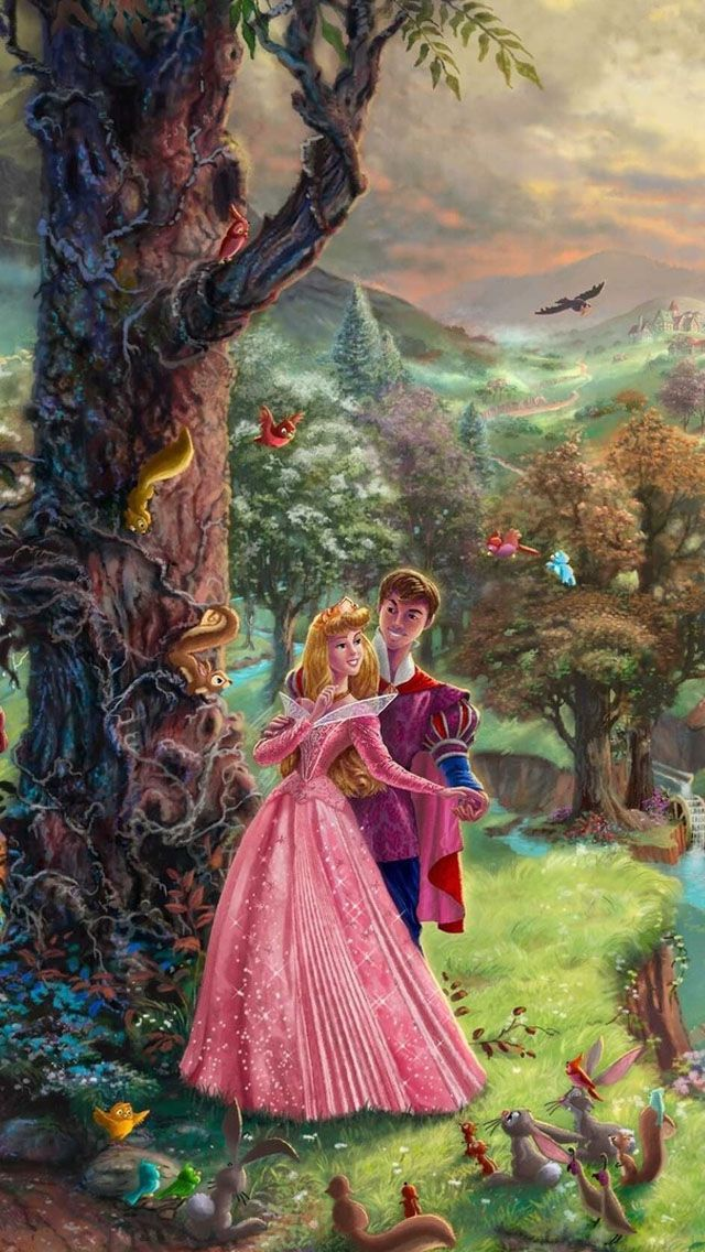 Prikazni Prikazni Geroi Thomas Kinkade Disney Thomas Kinkade