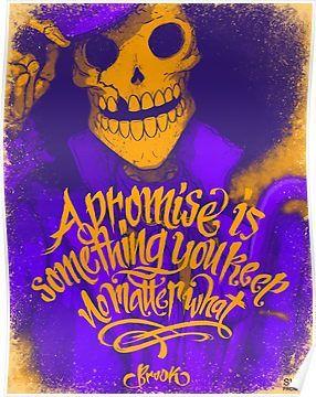 Humming Swordsman - quote Poster