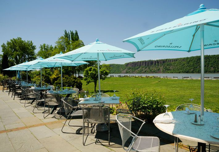 Outdoor Dining In Southern Westchester. Photo From Harvest On Hudson  Restaurant In Hastings