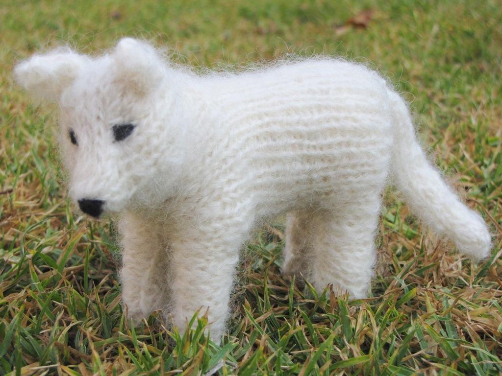 Spirit the Wolf | Knitting patterns, Patterns and Knit animals
