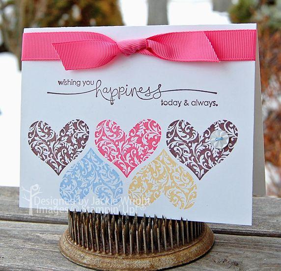 wishing you happiness hearts
