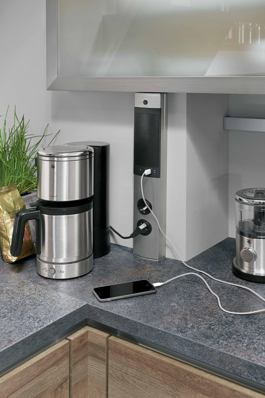 Für die Küche sollte man genügend Steckdosen einplanen, damit