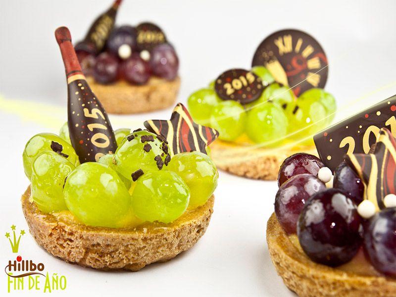 Individuales con uvas perfectos para fin de a o - Postres faciles para nochevieja ...