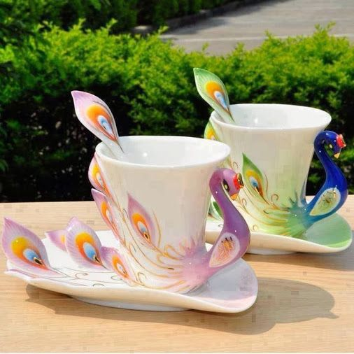 Creative cups and saucers