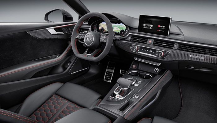 2019 Audi Rs5 Interior Design Rs5 Coupe Audi Rs5 Audi Rs