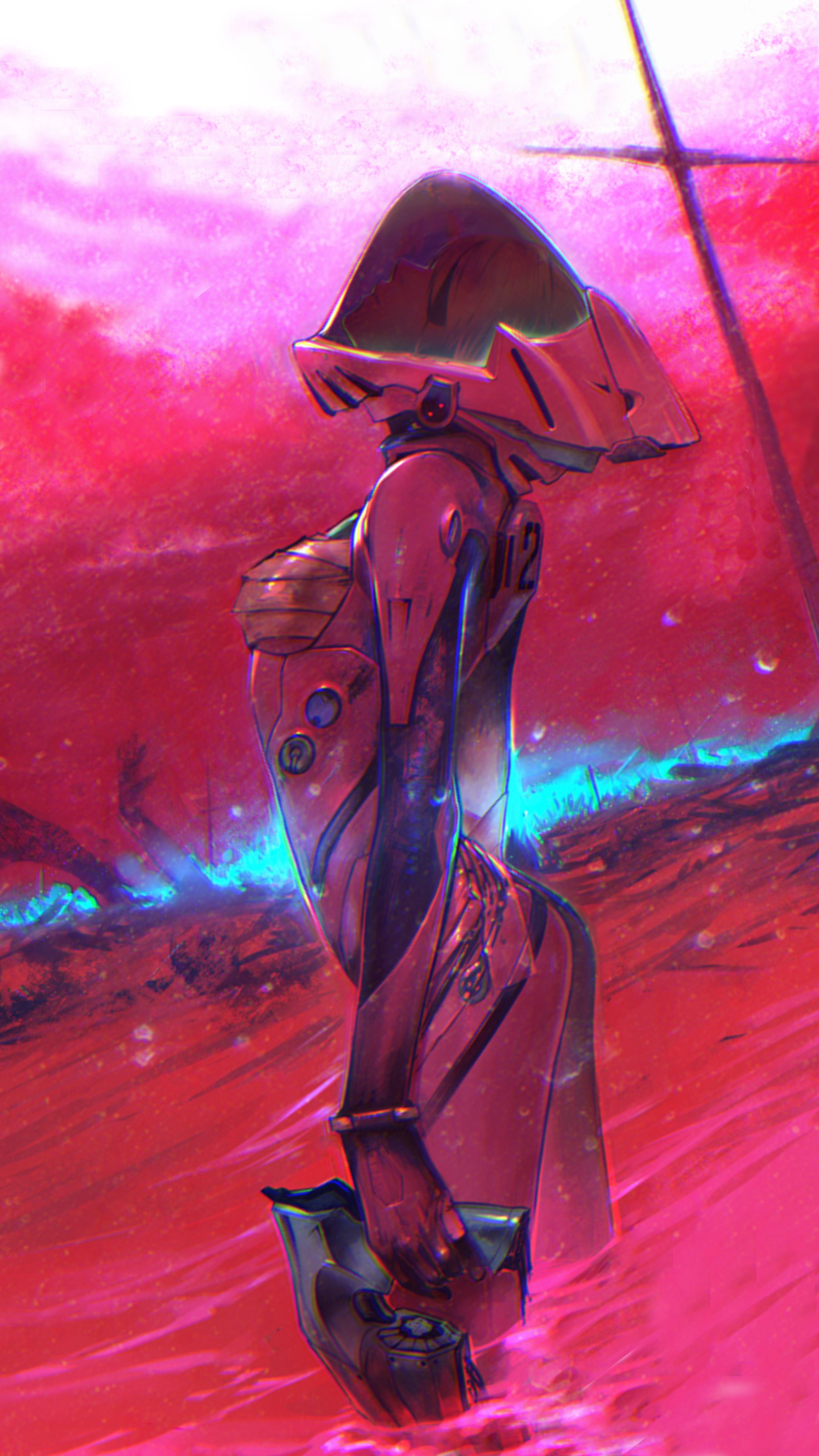 Evangelion Asuka Desktop andMobile Wallpaper HD