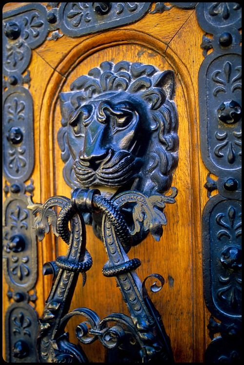 Head Door Knocker, Saint Stephen's Basilica, Budapest, Hungary by Doug Hickok