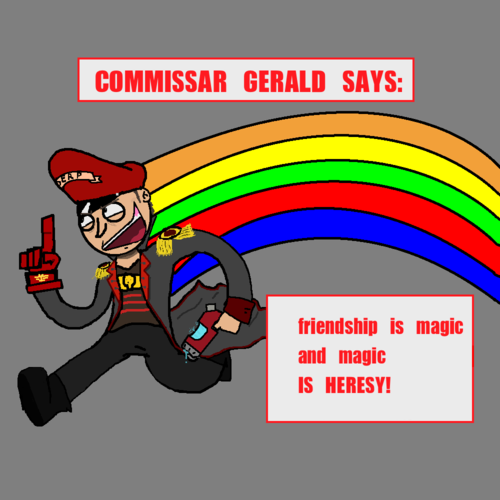 Image result for friendship is magic magic is heresy