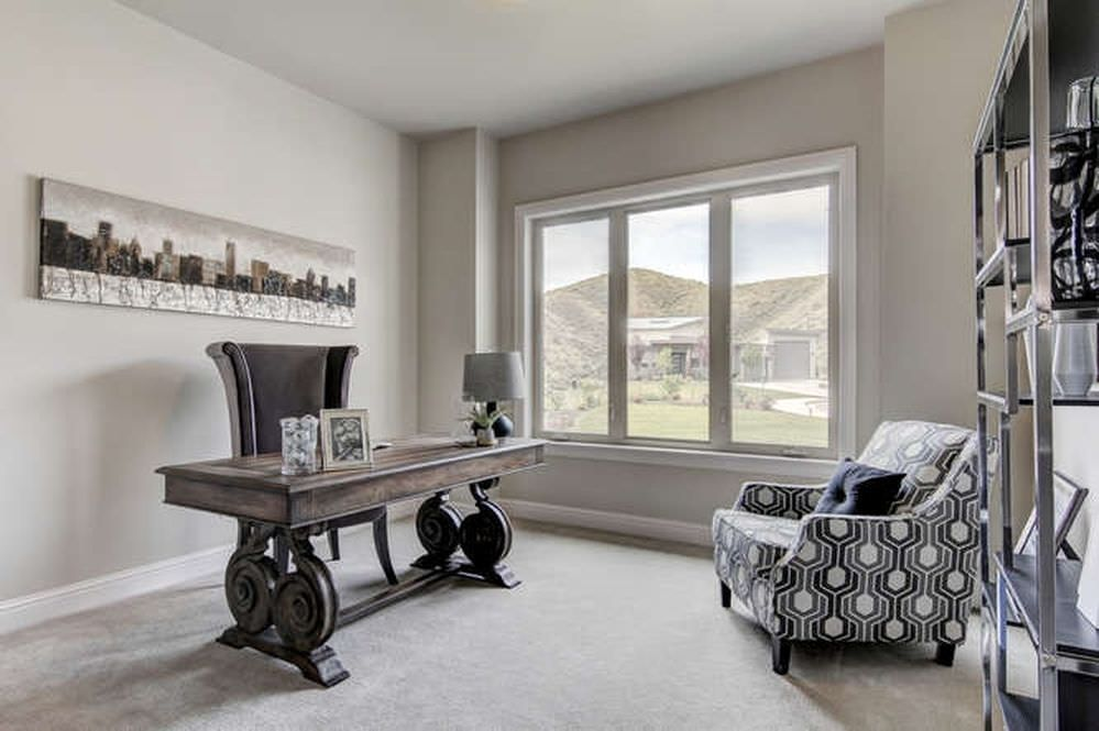 colors that go well with gray for interior design office on color ideas for home office id=61769