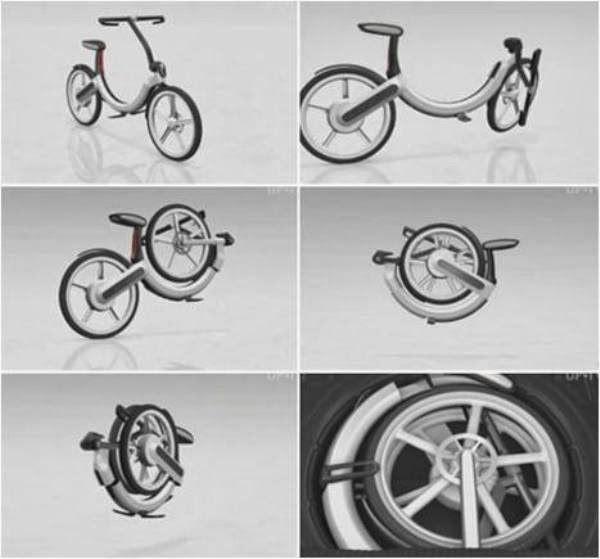 Volkswagon model folding bycicle | Folding electric bike