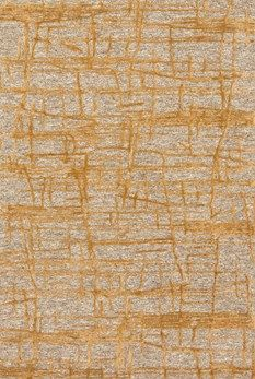 """Juneau Collection JY-05 NATURAL/GOLD Hand Tufted Viscose 
