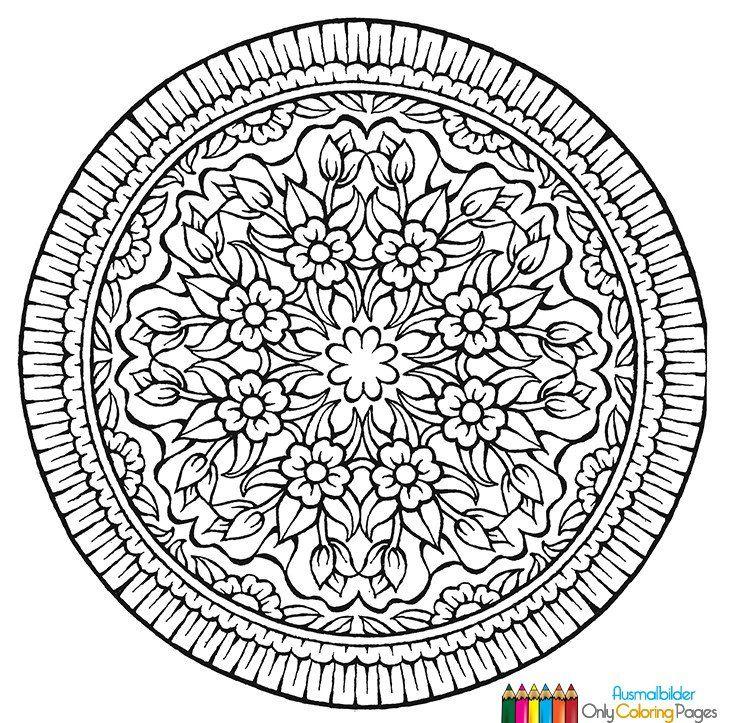 mandalas für erwachsene kostenlos  kunst  pinterest