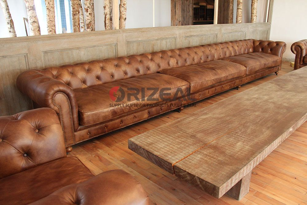 Orizeal moderne loisirs cuir v ritable chaise sans bras for S asseoir sans chaise