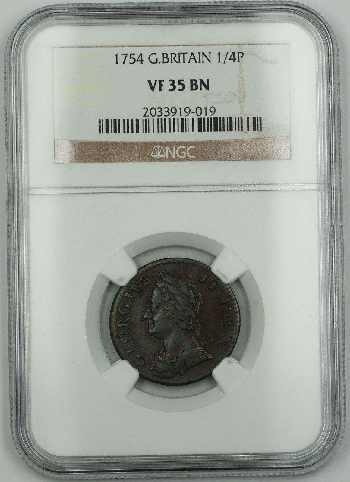 Item Specifics Seller Notes Ngc Vf 35 Brown