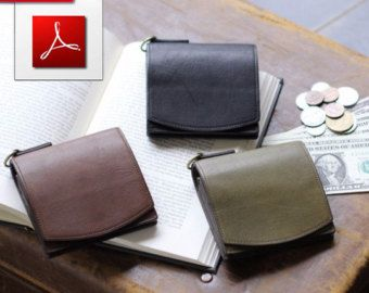 PDF pattern of leather passport cover , afetr purchase you will get 2 pdf files , print on A4 , and 2 books on PDF( Leather Working Guide and The Art of Hand Sewing Leather). Size 135/195 mm.