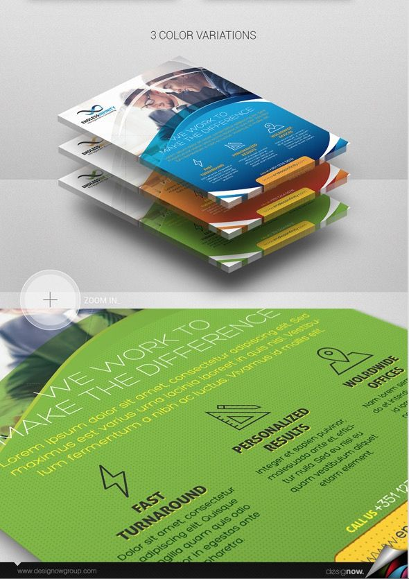 Flyer And Poster Endless Infinity Business Flyer Templates Business Flyer Business Card Design