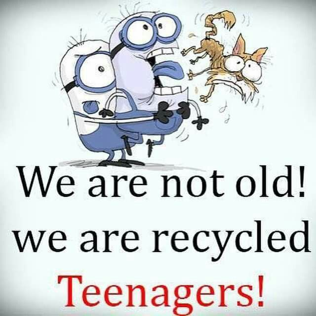 I've been recycled more than once.