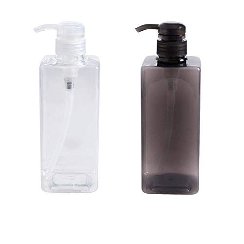 Soap Dispensers Plastic Bottles 600ml Large Capacity Refillable