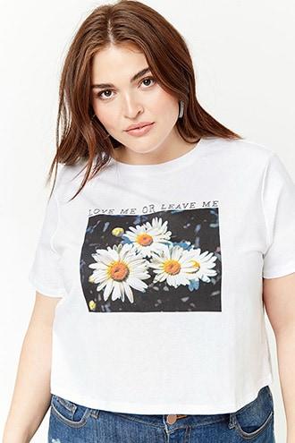 1be0e2fd03dd9 Plus Size Graphic Tees + Sweatshirts