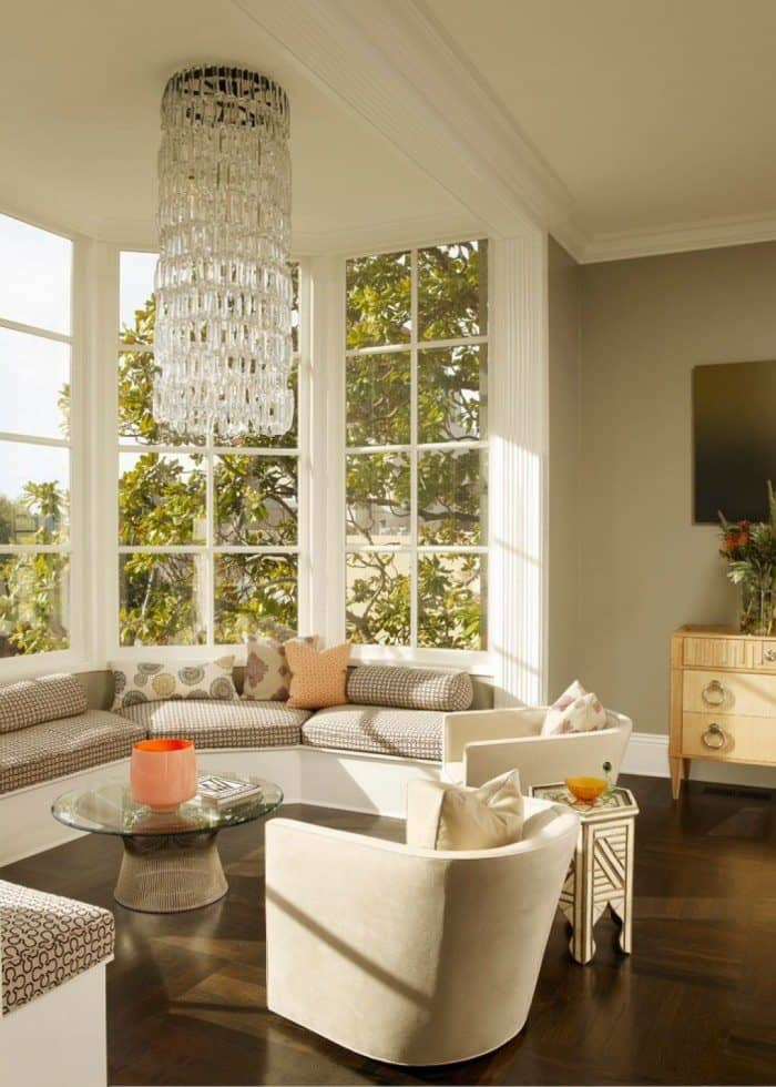 small living room with bay window decorating ideas in 2020