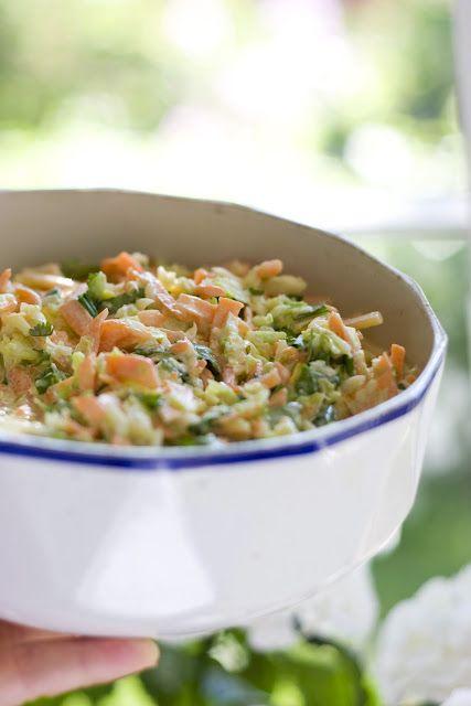coleslaw korianterilla