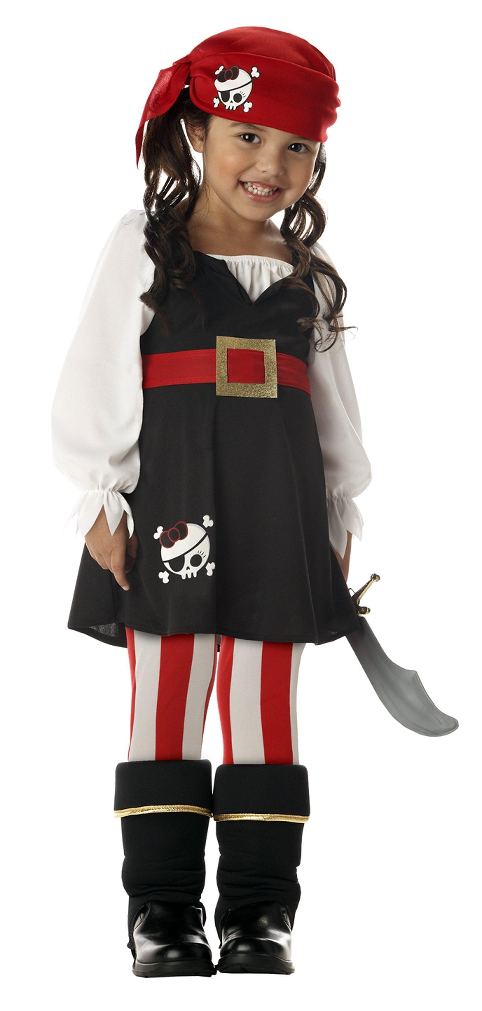 Precious Little Pirate Toddler Costume In