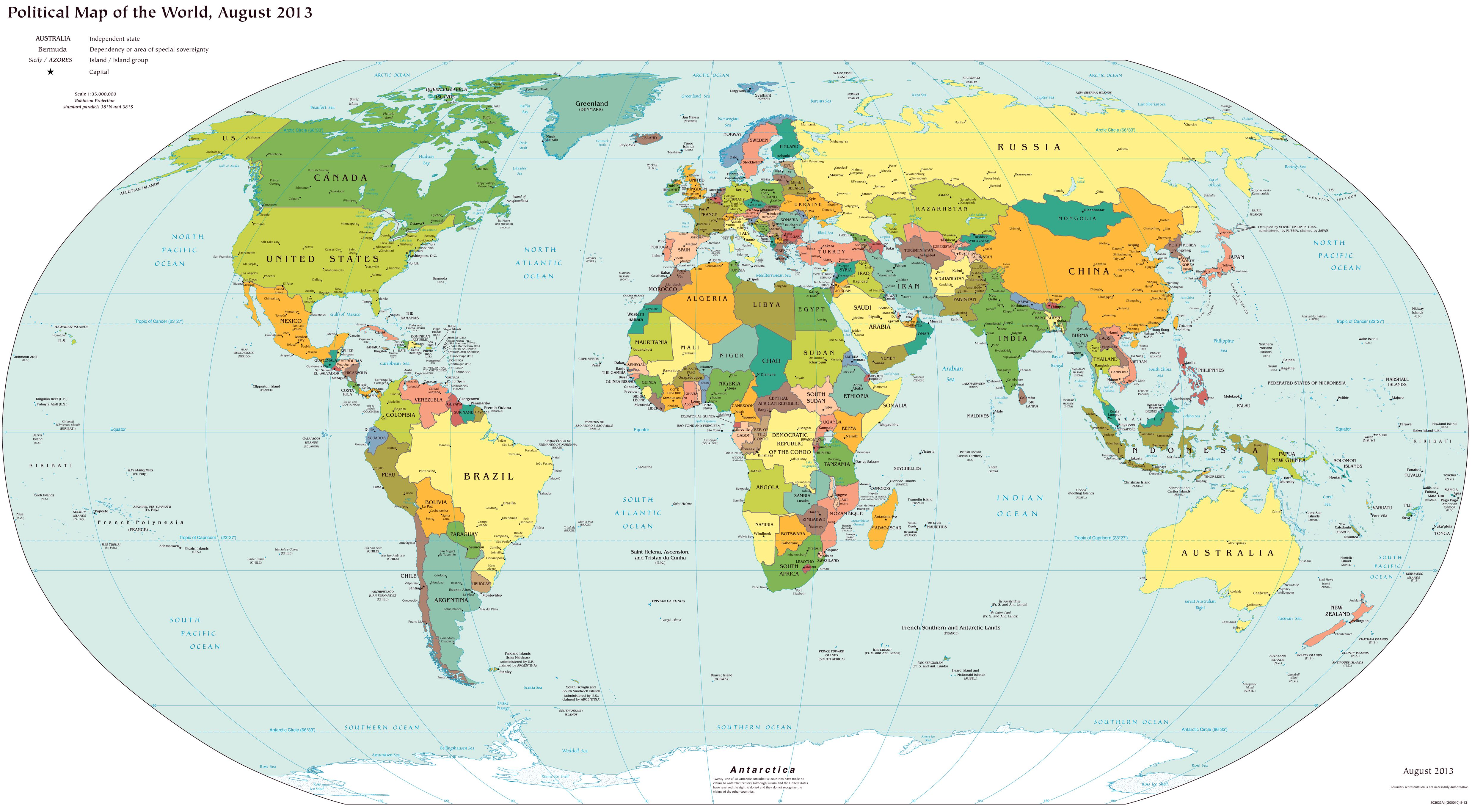 Large scale detailed political map of the world with major cities large scale detailed political map of the world with major cities 2013g 49502710 gumiabroncs Images