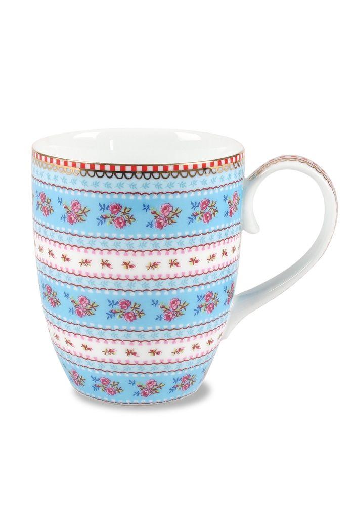 c9ad8f00641 PiP Mok Ribbon Rose | Koffie - Porcelain mugs, PiP Studio en Floral ...