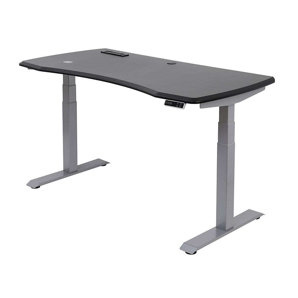 Workpro Electric Sit Stand Height Adjustable Desk Black Sit