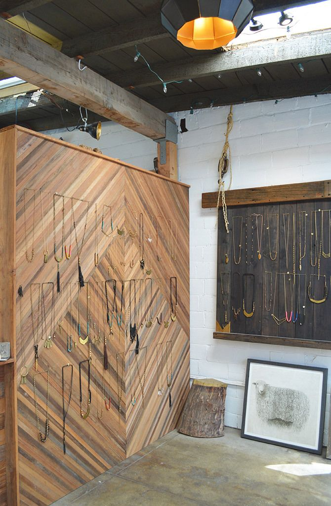 Marisa Haskell jewelry shop and studio in Temescal Alley, Oakland // via the Spotted SF blog