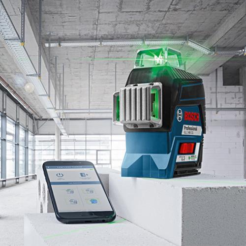 Bosch Gll 3 80 Cg 30m 360 Green Multi Line Laser Bosch Laser Levels Laser