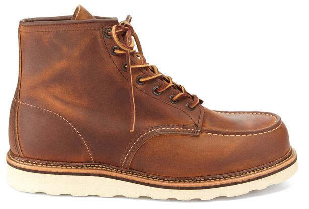 1000  images about Red Wing Moc Toe Boots on Pinterest | Copper