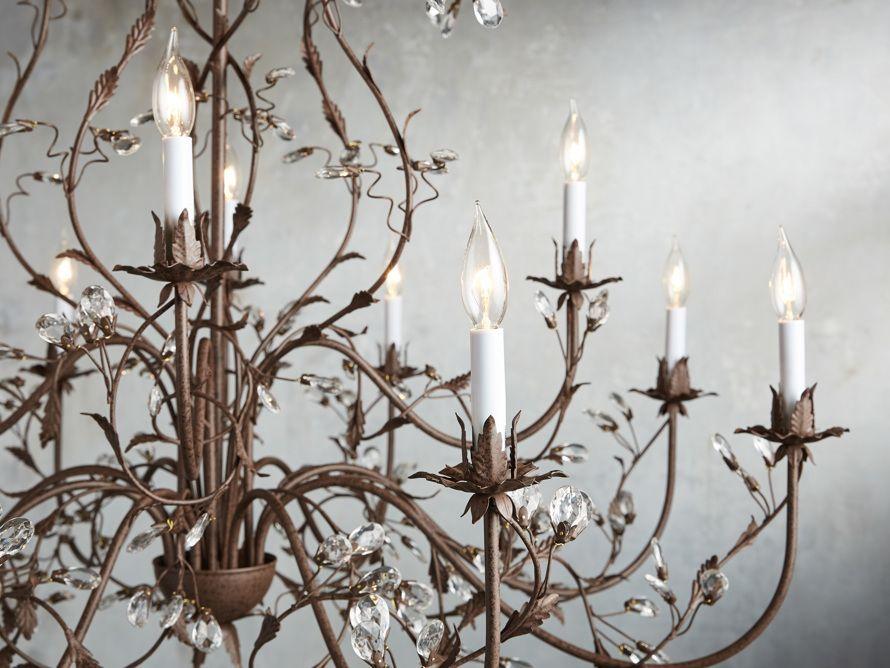 12 Light Chandelier Arhaus Furniture Lights Lamps Etc