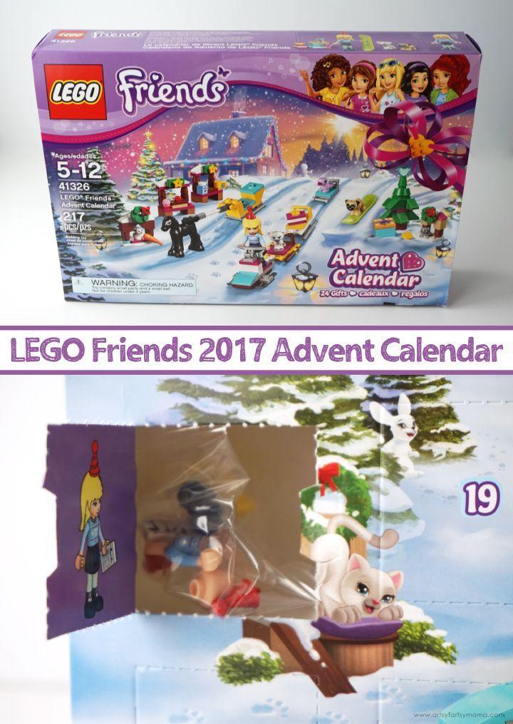 LEGO Friends Advent Calendar 2017 | Advent calendars, Lego and Count
