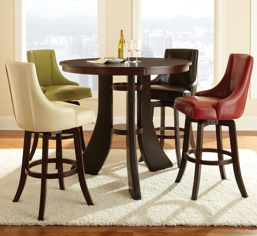 Elite Dining Room Furniture 50 Round Pub Table Set  Elite Modern Furniture Check More At