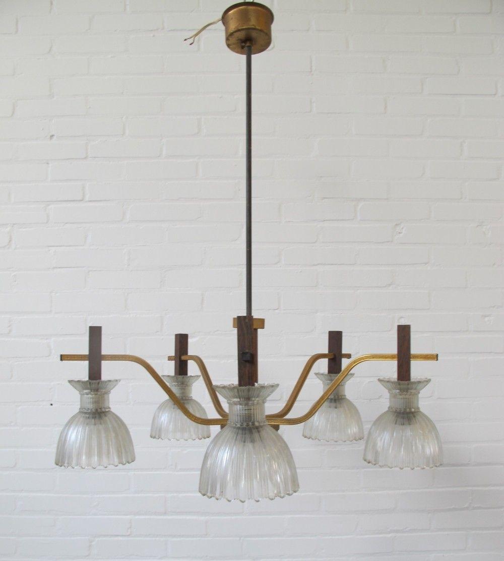 Vintage hanging lamp, 1960s
