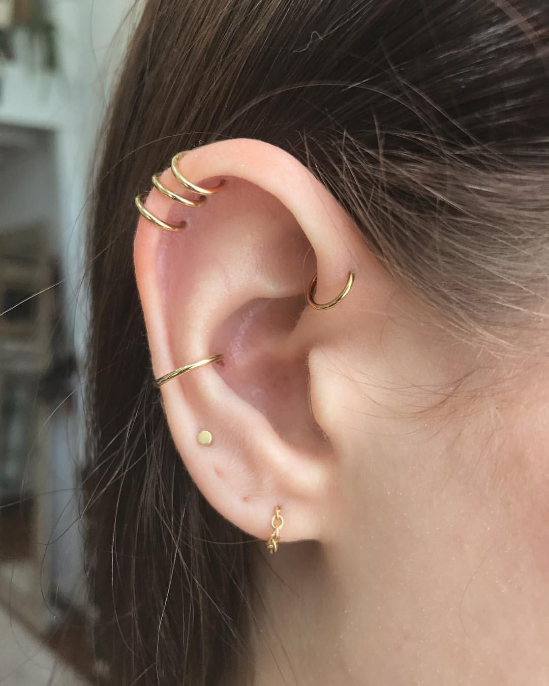 Custom Yg Chain And Ear Curation For At Elizabethpipko Done At At 108