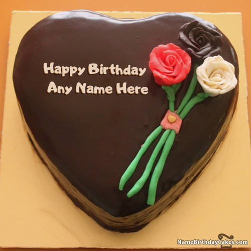 flower birthday cakes for facebook friends with name name on happy birthday cakes and flowers facebook