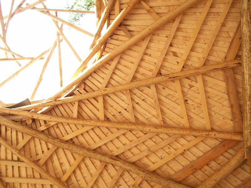 Reciprocal Frame Roof Natural Homes Pinterest