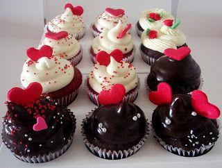 Cupcakes & Muffins: San Valentin