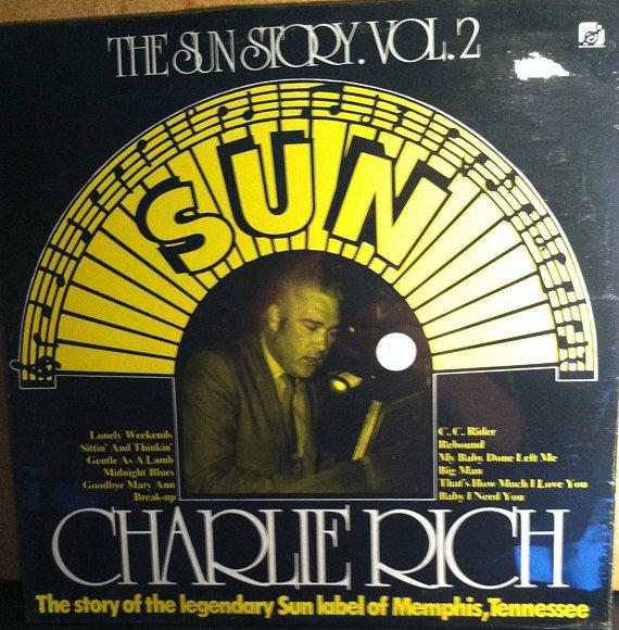 Charlie Rich The Sun Story Vol 2 Sealed Vinyl Record Album R B And Soul Vinyl Record Album Johnny Cash