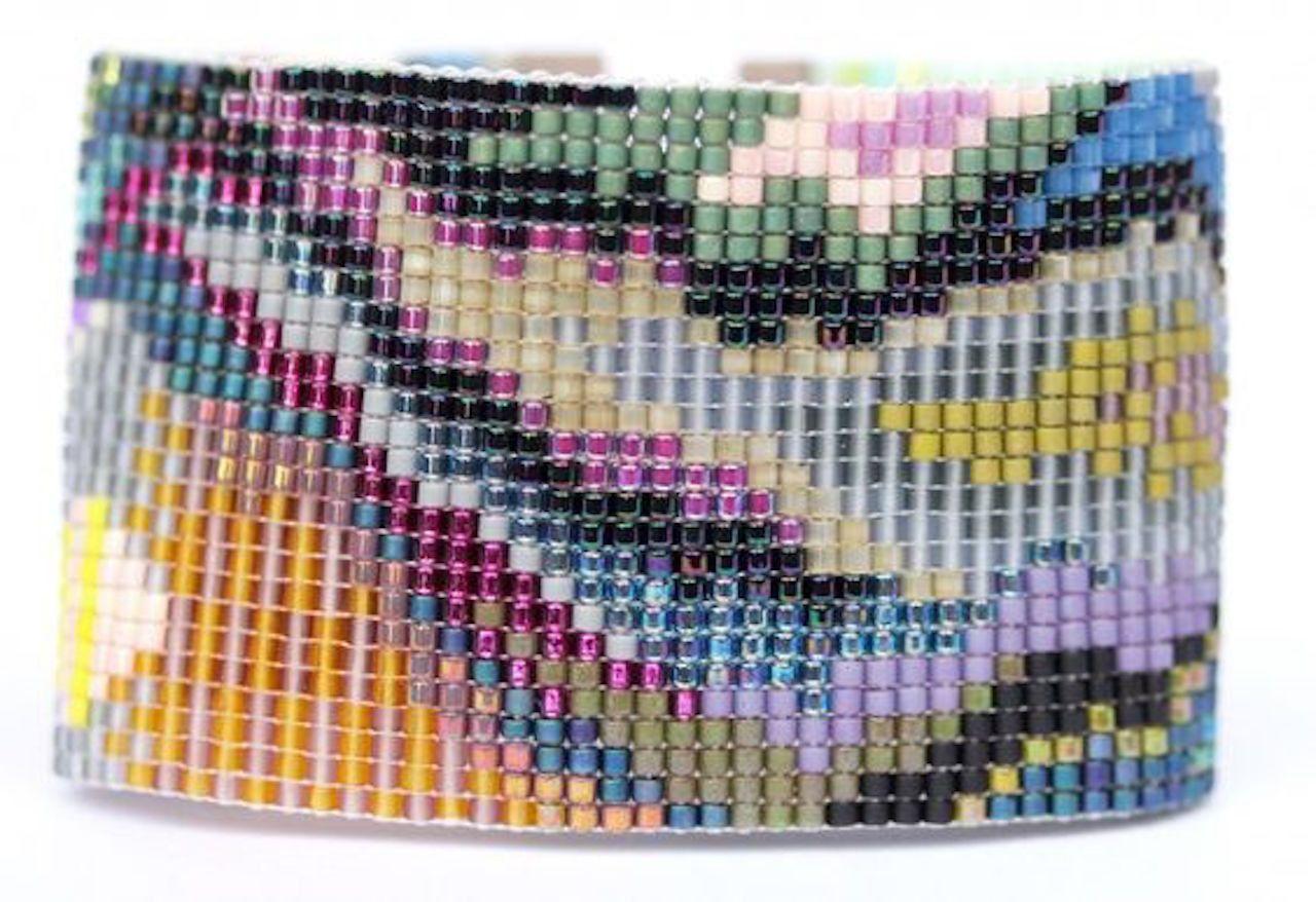 Watu Beaded Cuff Bracelet