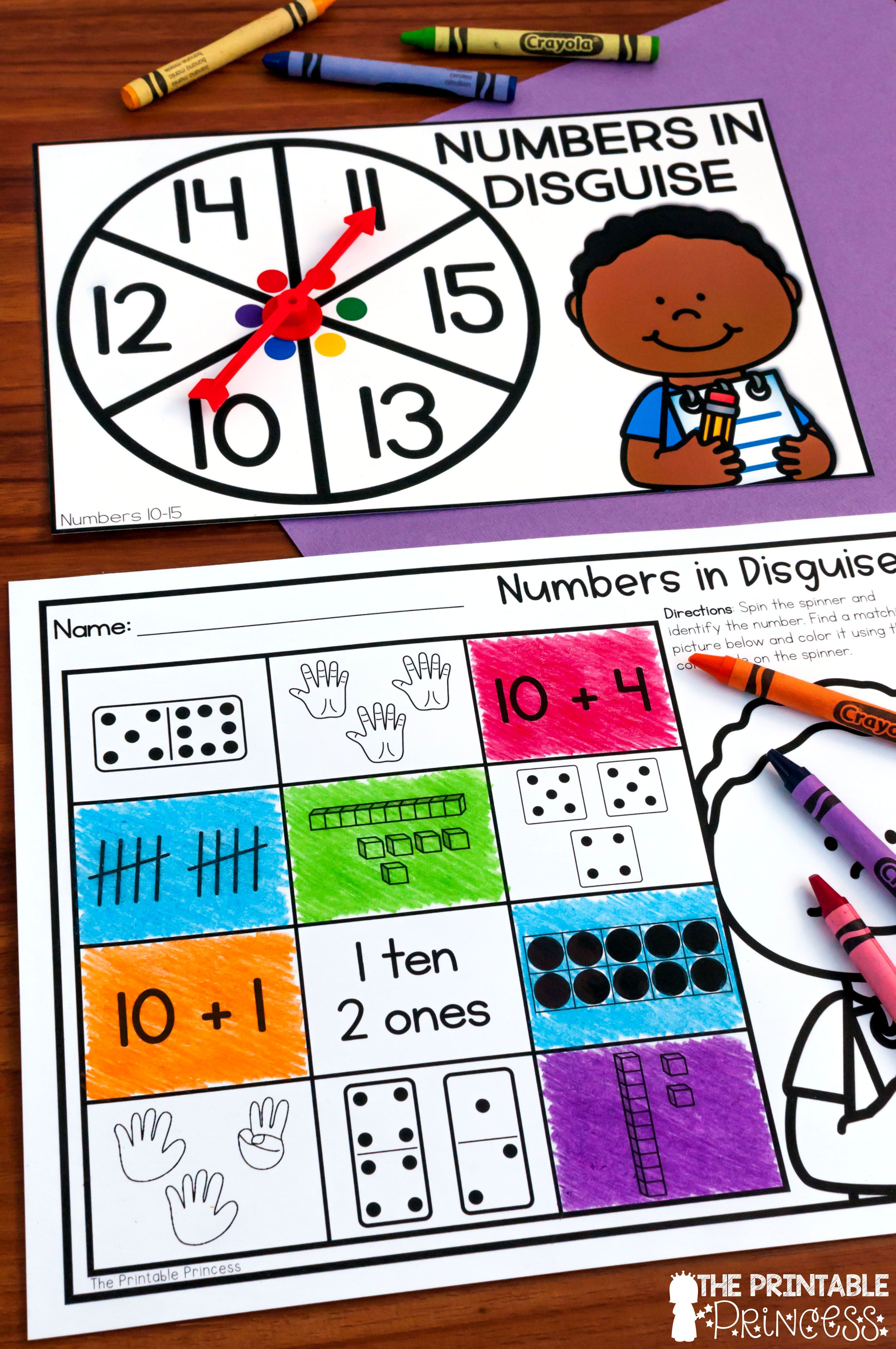 Kindergarten Math Centers Year Long Activities