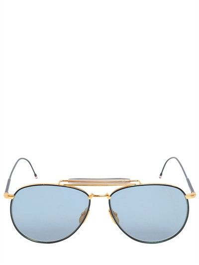 THOM BROWNE . #thombrowne #sunglasses