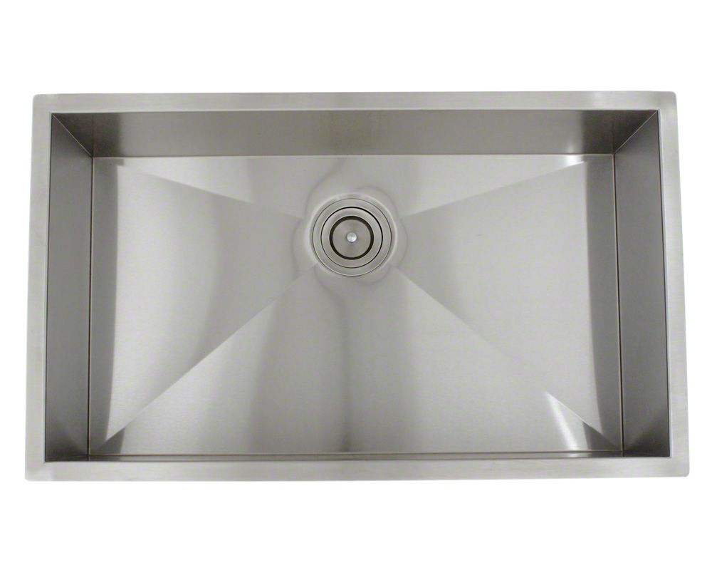 3322S Industrial Rectangular Stainless Steel Sink ...