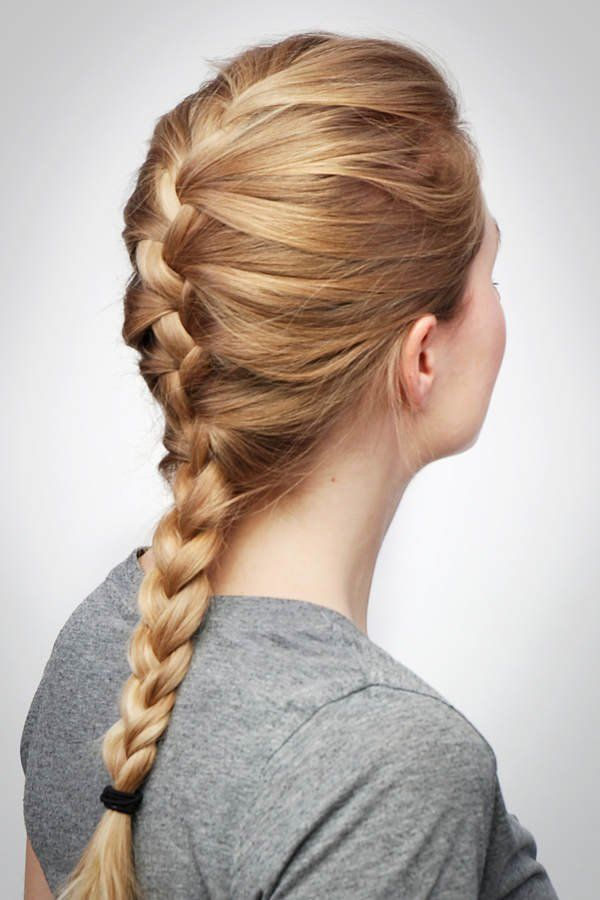 Frisuren Step By Step In 2019 Hair And Beauty Plaits Hair