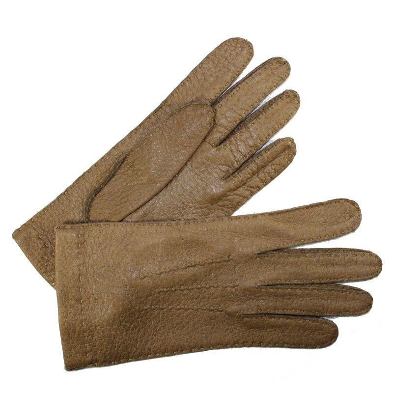 Gants Femme Glove Story réalisés en précieux cuir de Pecari. Le Pecari est  un cuir 0acc8661ac3